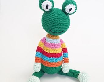 Crochet/ amigurumi Frog