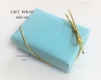 Gift Wrap Service Upgrade Wrapped Gift Jewelry Gift Birthday Gift for Her for Girls Mother's Day Easter Boxed Gift Wrapping Option Add-on