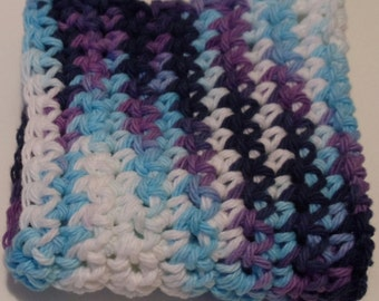 Crochet Dish Cloth Hot Pad Moondance