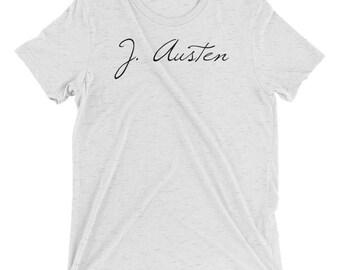 Jane Austen - Classic Author - Short sleeve t-shirt