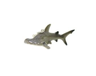 Hammerhead Shark Necklace, Charm Necklace, Charm Jewelry, Hammerhead Shark Charm, Shark Jewelry, Marine Life Necklace, Ocean Animal Charm