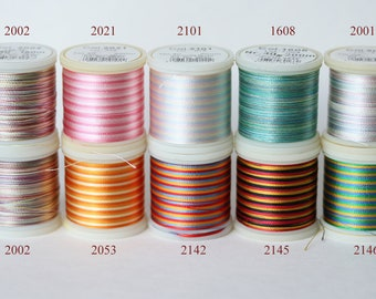 Madeira Rayon 30 40 Embroidery Thread 150m 200m Multicolour - 9 colors