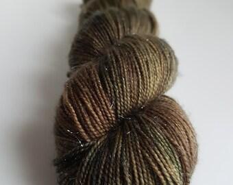 Skein of Superwash Merino - Nylon - Stellina / Fingering / Sock hand - dyed colors Maverick