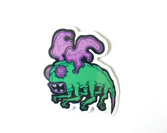 Grumblee Sticker