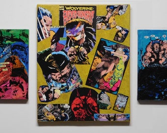 Comic Book Decoupage with Custom Faux Finishes by Keely M. VanDuzee