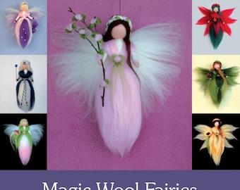 Gorgeous Magic Wool Fairies Book DIY Craft Wool