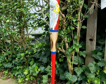Hand Painted Louisville Slugger Baseball Bat