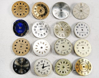 Small Watch Faces - set of 16 - c69