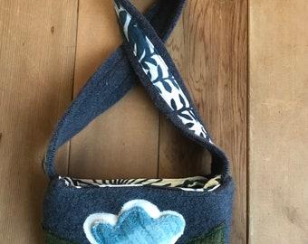 Upcycled girls purse