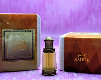 Heavenly Amber attar, Oriental Arabic perfumed oil