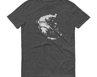 Greece, Greek Shirts, Greek T Shirt, Greek TShirt, Greece Map, Greek Gifts, Made in Greece, Greece Shirt, Greece Love Shirt, Greek