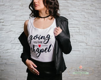 Going to the Chapel Bride Tank Top