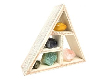 JOY & HAPPINESS Crystal Healing Kit / House warming gift set Boho Decor Raw natural healing crystals and stones heart chakra love - 29