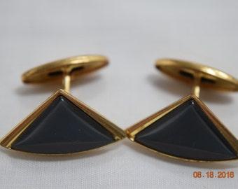 Black Cuff Links