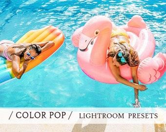 40 LIGHTROOM presets for COLOR POP effect