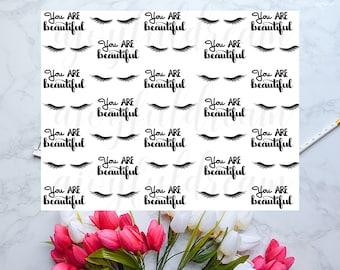 You Are Beautiful Digital Paper