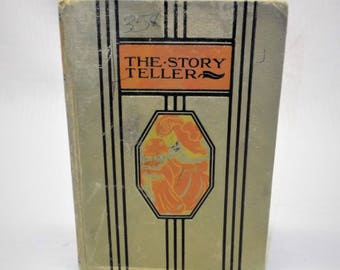 The Story Teller Young Folks Library 1955 Classic Fairy Tales Short Stories