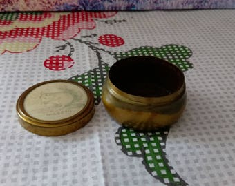 Vintage copper jewellery  box, vintage Jewellery box, vintage Small jewellery  box, old jewellery box, jewellery ring box, free UK shipping