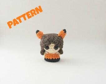 Amigurumi Fox Doll Pattern, Crochet Fox Pattern, Amigurumi Doll Pattern, Woodland Doll Pattern, Crochet Woodland Pattern, Amigurumi Patterns