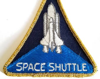 Free Shipping! Space Shuttle Patch Clean