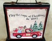 Red Truck Magic of Christmas Block of the Month SET