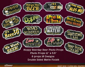 Hoppy Beer Day Beer Brewery Themed Photo Props