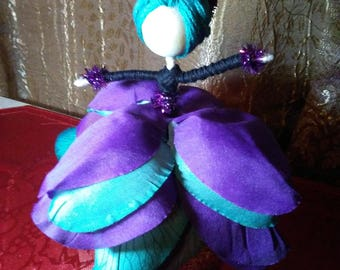 Flower Fairy Dolls, Arts and Crafts, Dolls, Flowers, Fairies