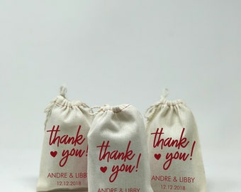 "4""x6"" Wedding Party Favor, Muslin Bags, Custom Muslin Bags, Party Favors, Bachelor Party, Bachelorette Party, Personal Bags --64550-MB04-610"