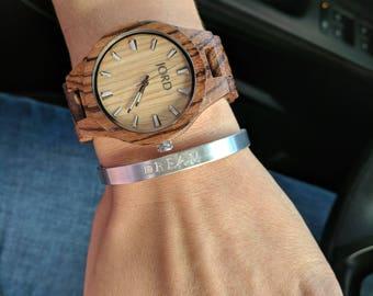 Pre-Sale! Hand Stamped Cuff Bracelet