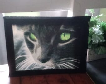 Black Cat Diamond Painting
