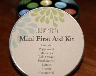 Mini First Aid Kit - Essential OIls