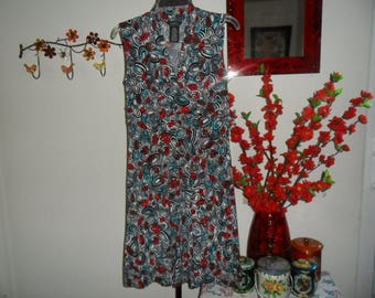Vintage Empire Waist Dress Size Small