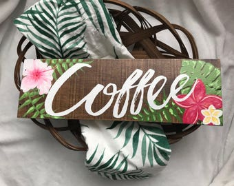 Coffee sign, coffee, coffee mug, coffee table, coffee bar, coffee mug holder, coffee gift, rustic sign, farmhouse decor, kitchen sign