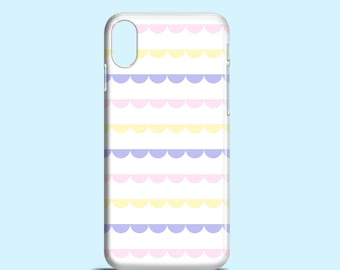 Pastel Lace phone case / Cute pastel iPhone 8 case / girly iPhone X case / iPhone 7, iPhone 6, 6S, SE, iPhone 5, Samsung Galaxy S7, S6, S5