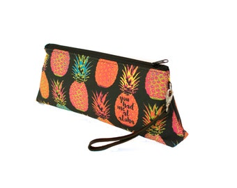 Pineapple - Clutch Wristlet - You had me at Aloha Purse
