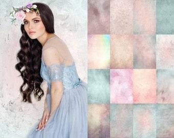 20 Pastel photo Textures, Photoshop textures overlays, spring textures, spring overlays, photoshop overlays
