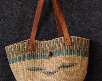 Vintage Sisal woven bag