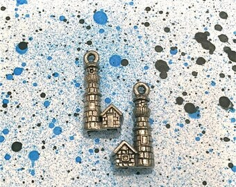 Lighthouse - 4 pieces-(Antique Pewter Silver Finish)