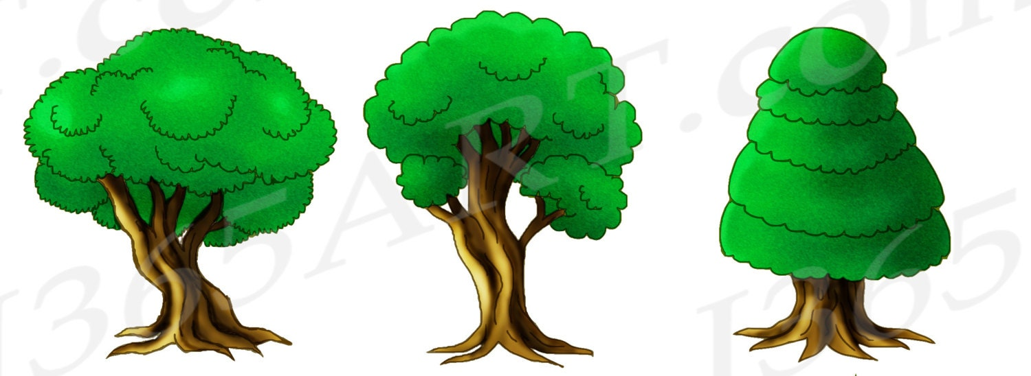 50 off tree clipart tree clip art green forest clipart trees rh etsystudio com forest clip art background forest clip art free