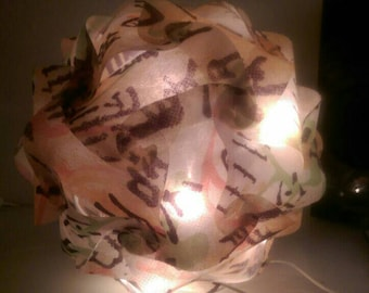 Design lamp, ball lamp with Chinese characters