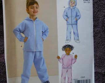 MCCall's M9225 Toddlers Shirts and Pants Size 1 - 4