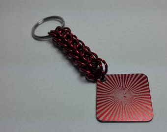 Keyring Pendant with Engraving