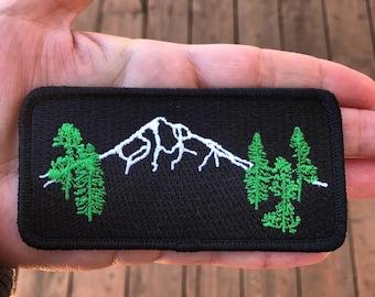 Seasons K Designs Mt Hood Forest Patch