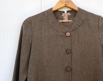 1960's Vintage Handmade Shift Long Sleeve Dress