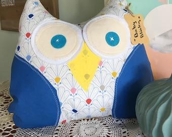 Hand Made Owl Cushion