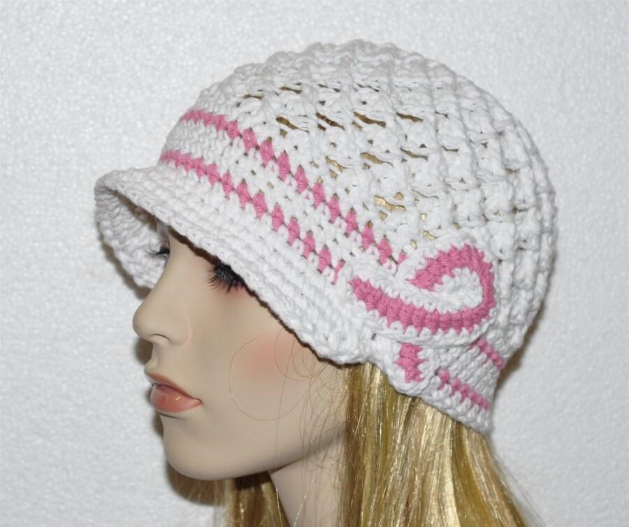 Breast Caner Hat Cancer hat Ladies Cancer Hat Chemo Hat