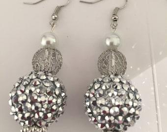 Oversized Earrings, Elegant Earrings, Gaudy Earrings, Big Earring,  Large Earrings, Cheap Jewelry, Cheap Earrings