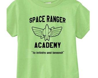 Toddler Disney Tee Space Ranger Academy Buzz Lightyear Shirt Disneyland Shirt Disney World Shirt Magic Kingdom Tee Toy Story Tee Pixar Tee
