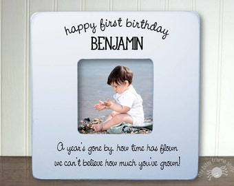 Personalized First Birthday Frame First Birthday Gift For Boy 1st Birthday 1st Birthday Gift Unique Birthday Gift  First Birthday IBFSBABY
