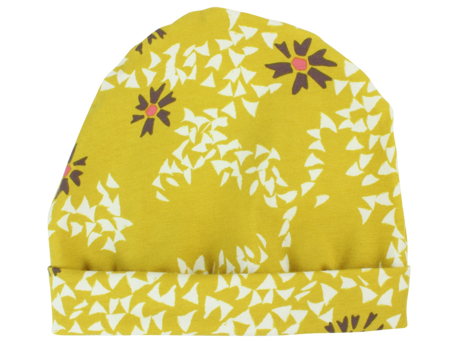 Mustard Yellow Floral Baby Beanie Hat Mustard Baby Leggings Baby ... d978bb7a6b2